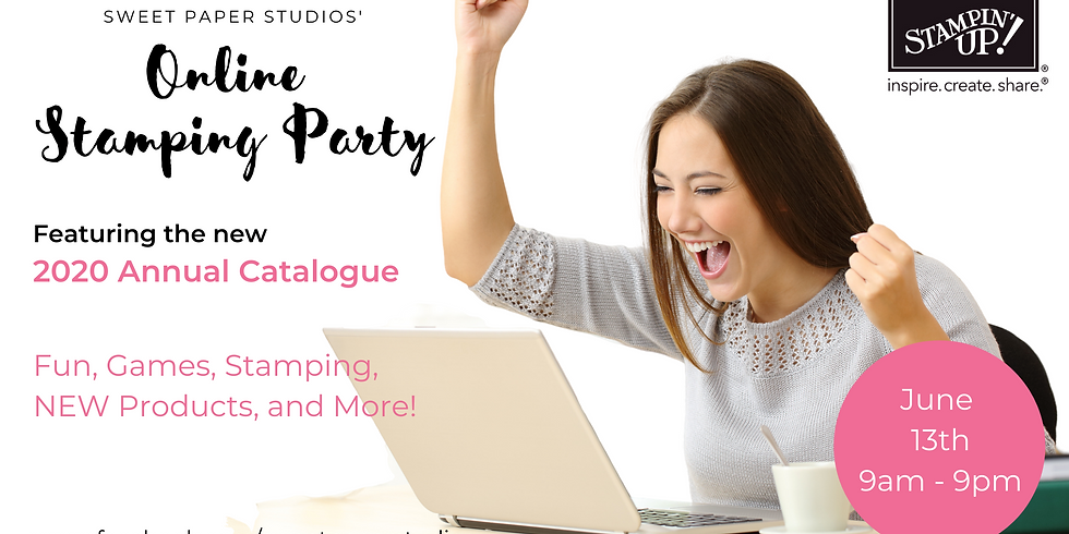Sweet Paper Studios Online Stamping Party