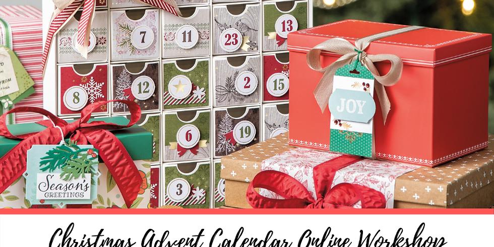 Christmas Advent Calendar Online Workshop