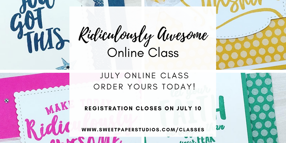 Ridiculously Awesome Online Class