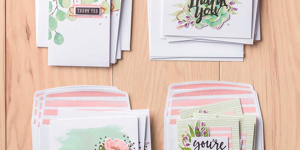 Notes of Kindness Live Online Card Class