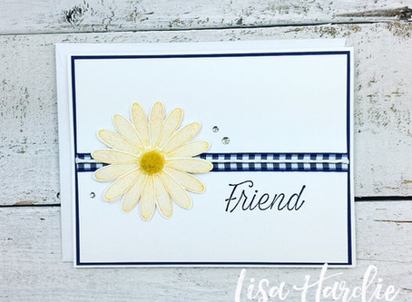 Simply Beautiful Daisy Lane Card