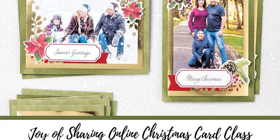 Joy of Sharing Online Christmas Card Class