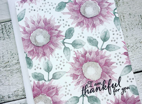 Video Tutorial: Simple Stamping with Painted Harvest for PCC328