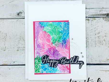 Breathtaking Bouquet Watercolour Card for PPC365