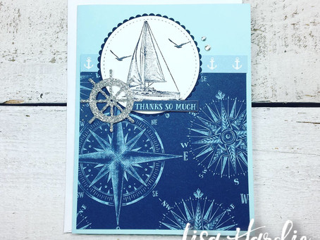Masculine Sail Away Card for PCC336