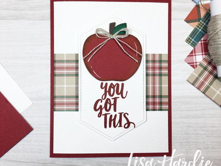 OSAT Blog Hop | You Got This Harvest Hello Card