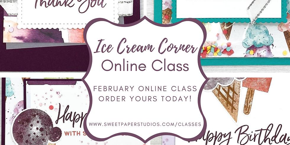 Ice Cream Corner Online Class