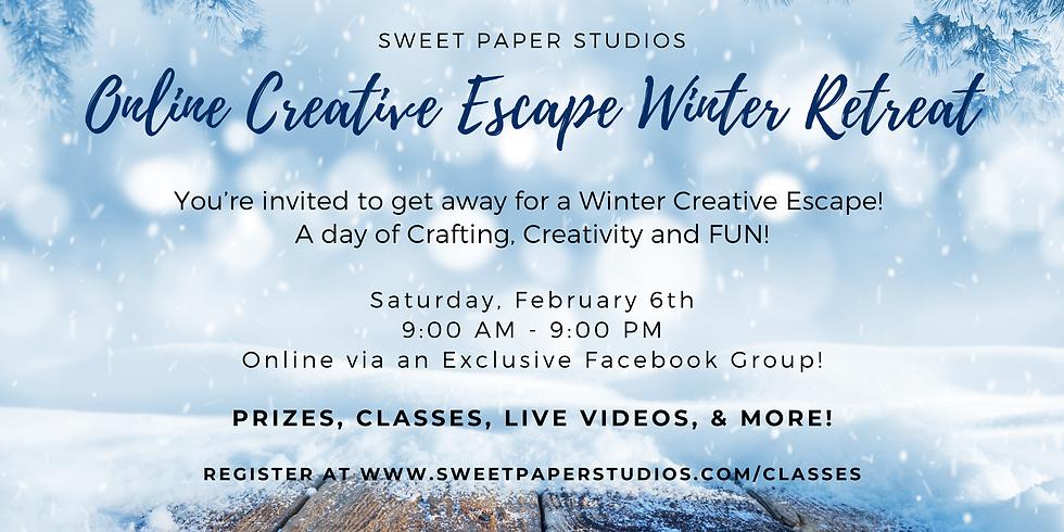 Online Creative Escape Winter Retreat