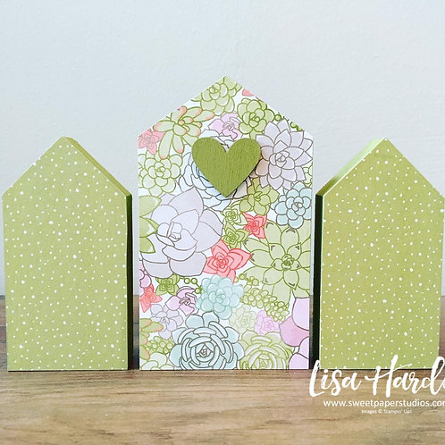 Succulent Sweet Little Houses