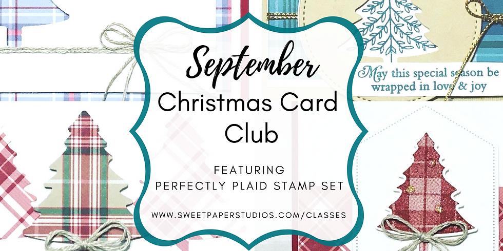 September Christmas Card Club