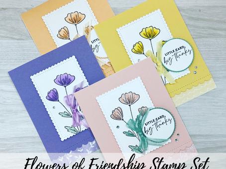 Flowers of Friendship Card | 1 Design, 4 Colours!