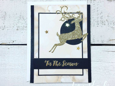 Black and Gold Holiday Card for PCC #318