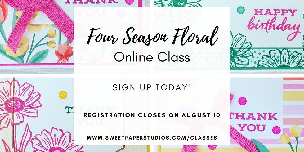 Four Season Florals Online Class