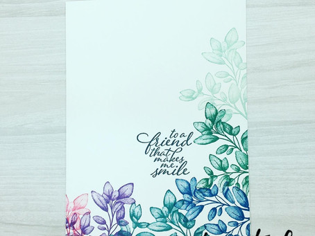 #SimpleStamping Sunday: Forever Fern Card