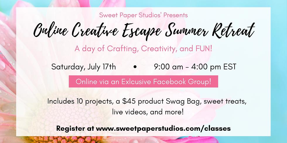 Online Creative Escape Summer Retreat