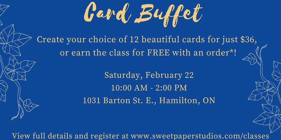 Beat the Winter Blues Card Buffet