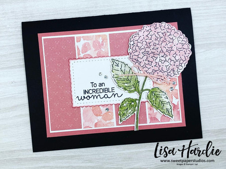 Beautiful Hydrangea Hill Cards with VIDEO
