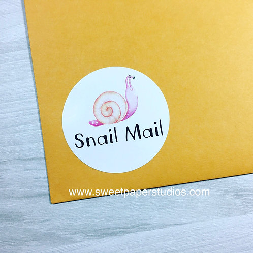 Snail Mail Labels
