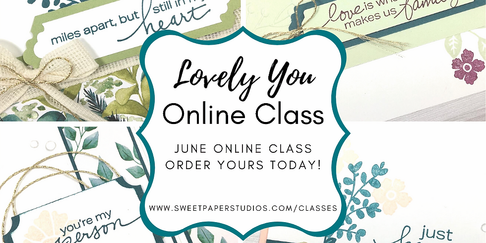 Lovely You Online Class
