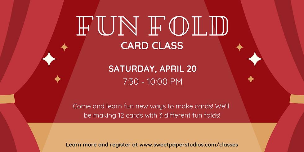 Fun Fold Card Class