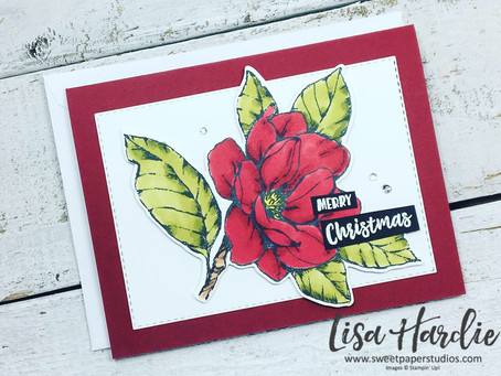 Magnolia Christmas Card w/VIDEO
