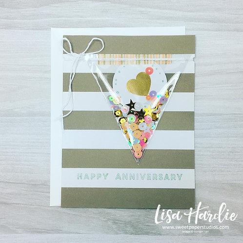Confetti Anniversary Card
