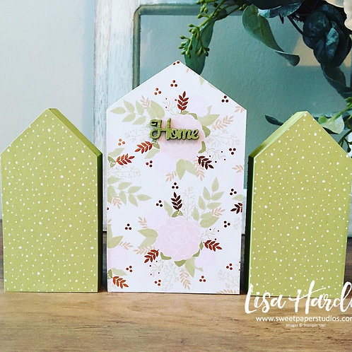 Floral Sweet Little Houses