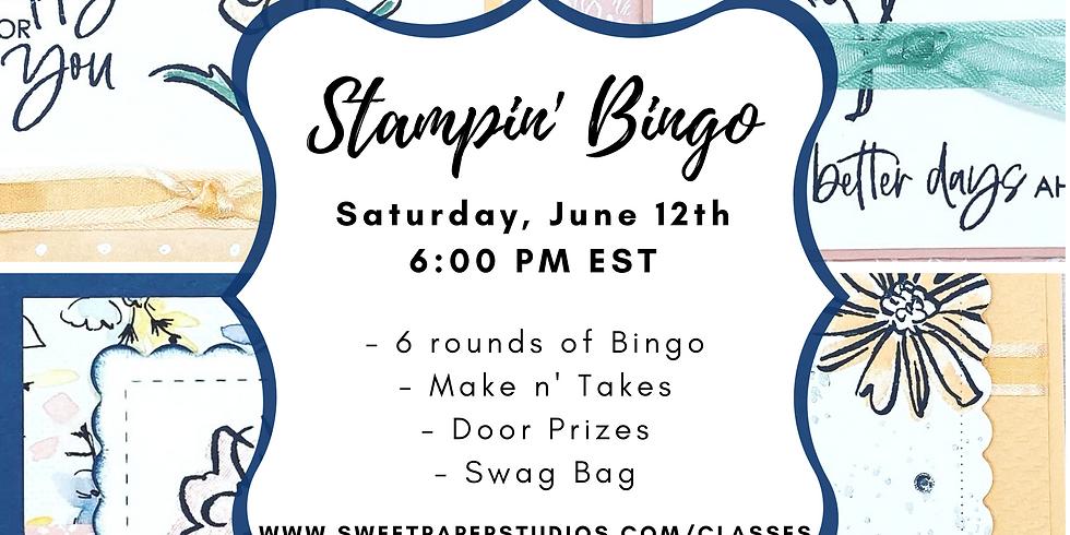 Online Stampin' Bingo!
