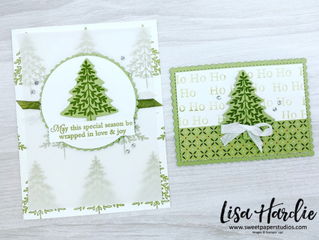 Two Tone Perfectly Plaid Christmas Card and Gift Card Holder w/ VIDEO