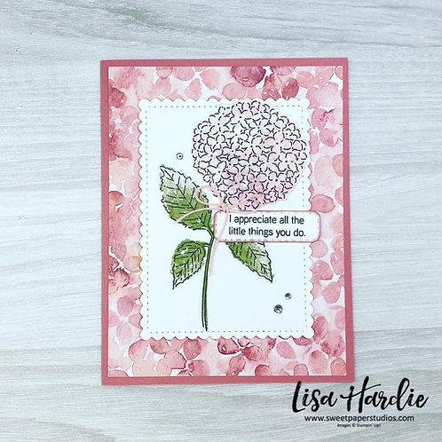 Things You Do Hydrangea Card