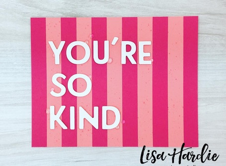 OSAT Blog Hop | Pretty In Pink with Playful Alphabet Dies