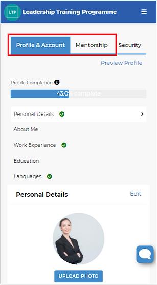 Image 3 Edit Profile - Profile and Accou