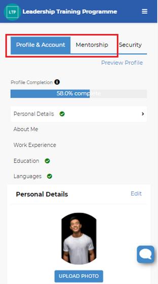 Image 3 Edit Profile Page - Profile & Ac