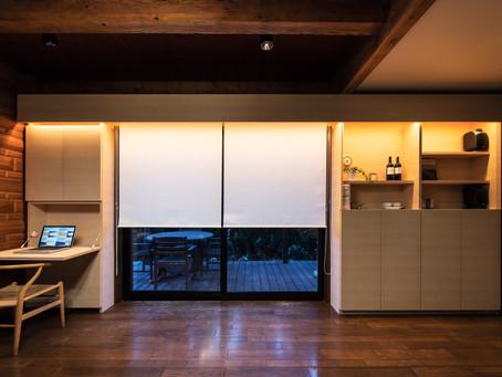 多機能壁面家具