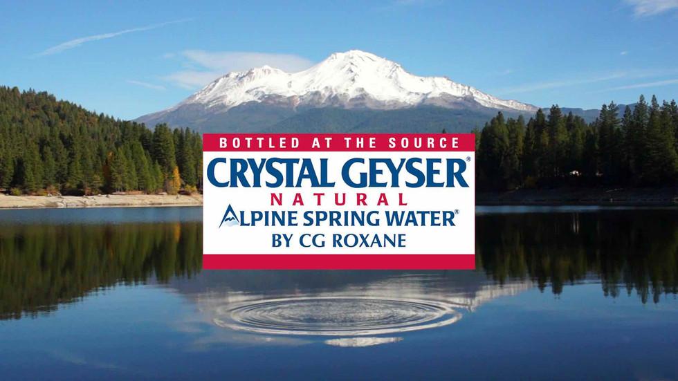 Crystal Geyser Commercial
