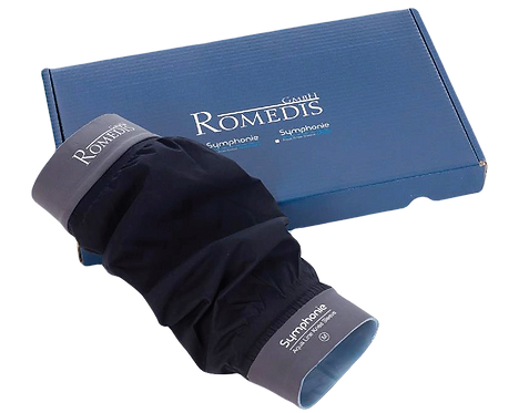 Symphonie Aqua Knee Sleeve by Romedis