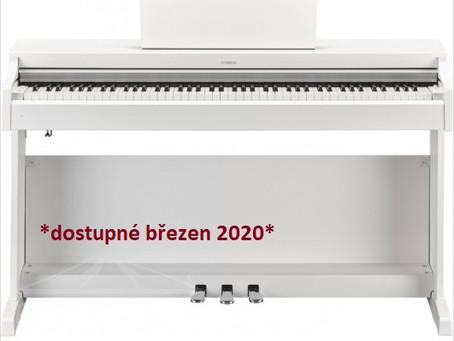 Výpadek ve výrobě Yamaha pian