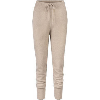 Envelope 1976 - cozy beige pants from recycled cashmere - ethical loungewear