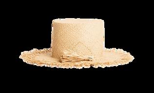 Raffia boxy artsy sunhat from Pardohats