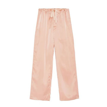 Araks - ethical loungewear pijama - peach peace silk pijama pants
