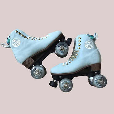 Pre loved 70s Roller Skates Depop