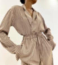 Sustainable loungewear Silk Pijamas by A