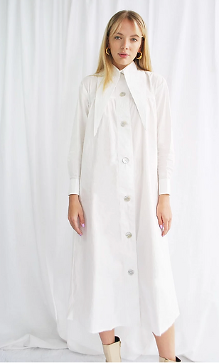 house of sunny organic cotton shirt dres