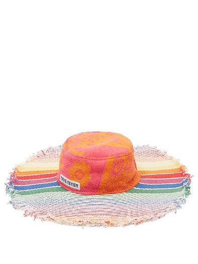 Rave Review Hat - Upcycled Towels