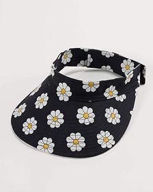 buy sun cap with daisy print product image