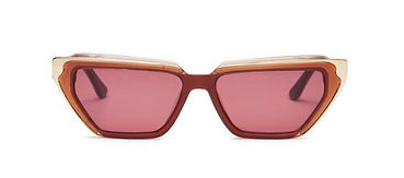 Carla Colour sustainable acetate sunglasses