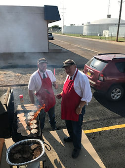 Minister's Cooking Preacher Burgers