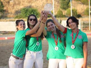 La medalla de bronce de horseball femenino se viene a nuestro poniclub