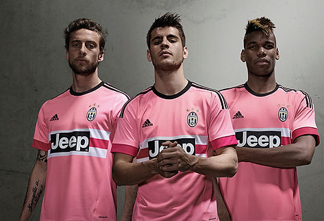 new style d9460 384f7 OFFICIAL. Juventus will use pink shirt in the 2016-2017 season.