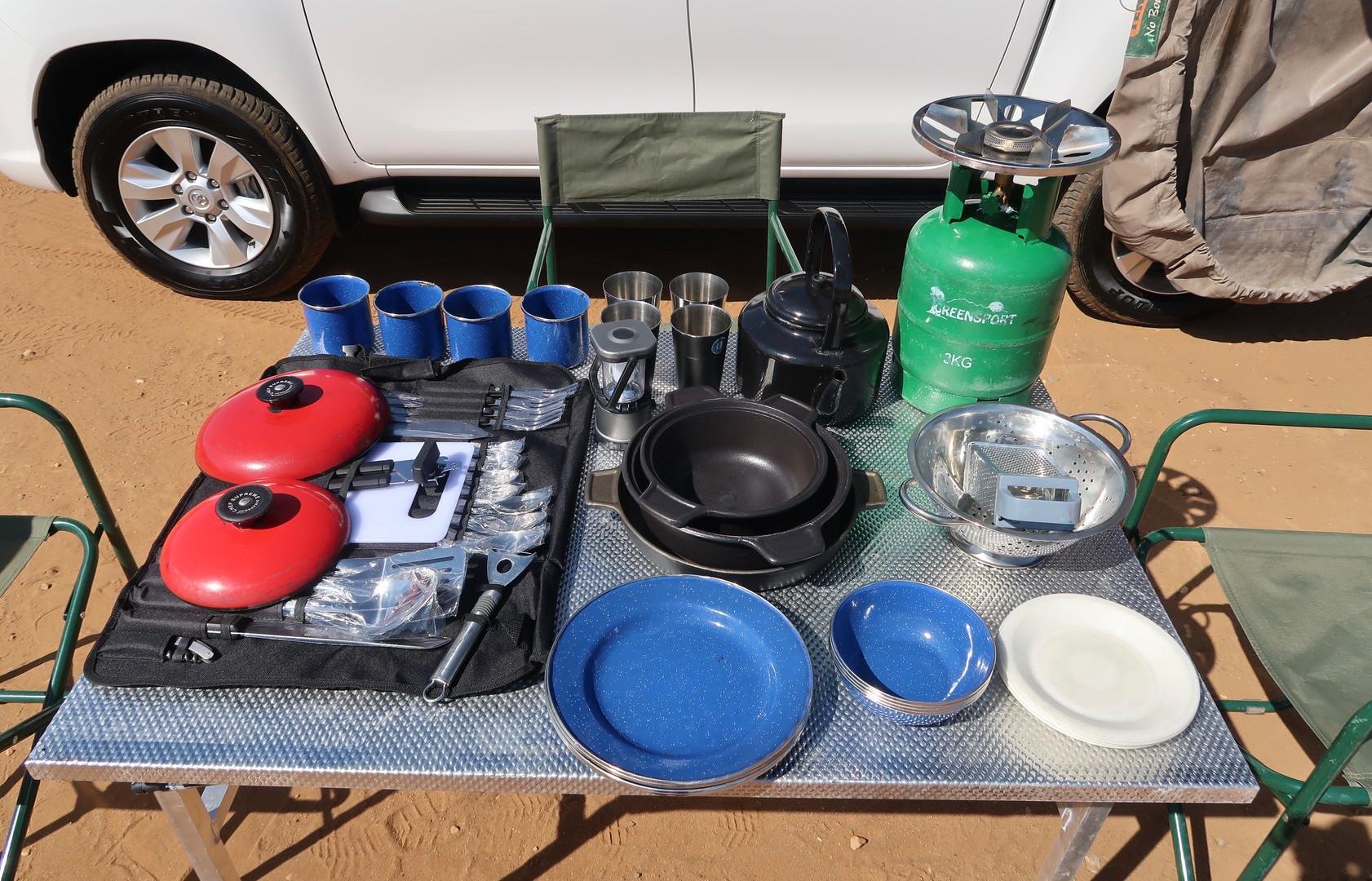 Basic Camping Equipment